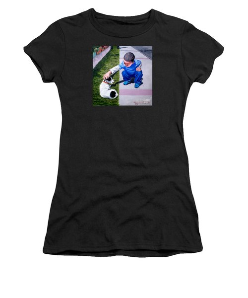 Untitled-2 Women's T-Shirt (Athletic Fit)