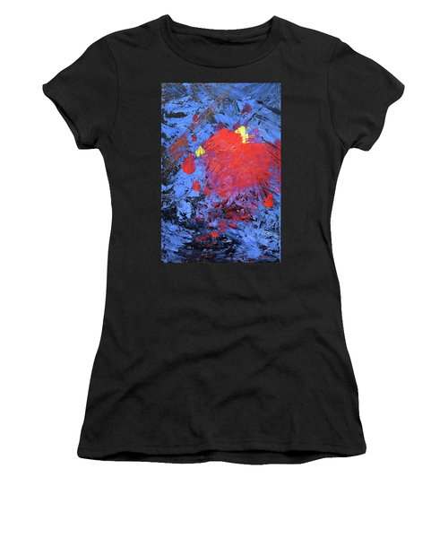 Untitled Abstract-7-817 Women's T-Shirt (Athletic Fit)