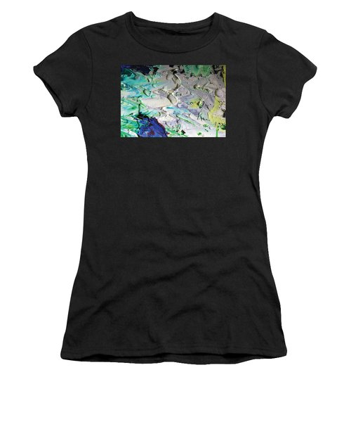 Untitled Abstract With Droplet ## Women's T-Shirt (Athletic Fit)