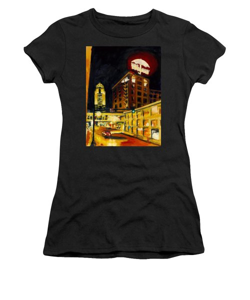 Untitled In Red And Gold Women's T-Shirt