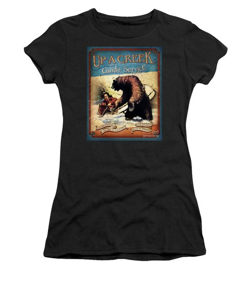 Up A Creek 2 Women's T-Shirt (Athletic Fit)