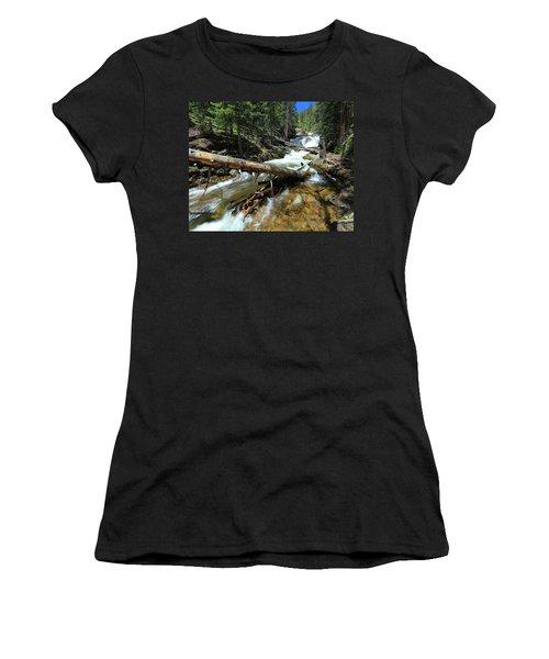 Up A Log Women's T-Shirt