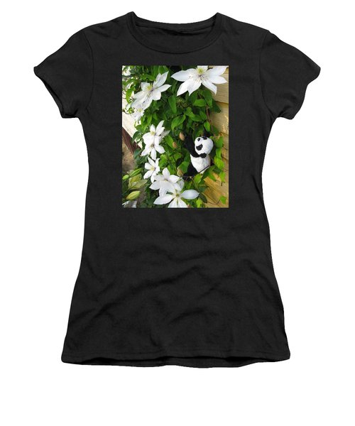 Women's T-Shirt (Junior Cut) featuring the photograph Up And Up And Up by Ausra Huntington nee Paulauskaite