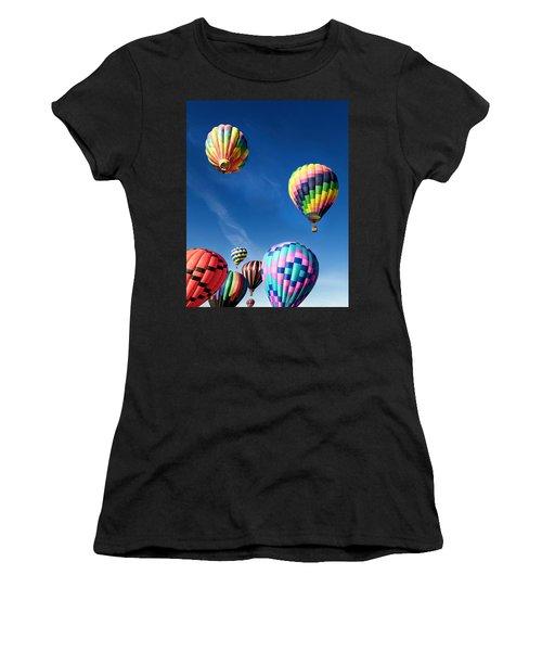 Up In A Hot Air Balloon 2 Women's T-Shirt