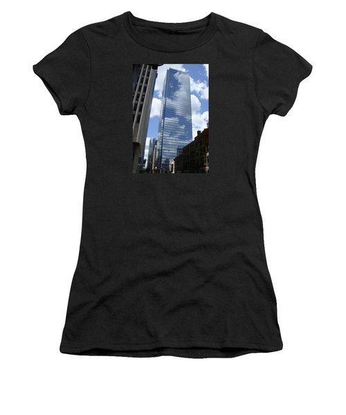 Skyway Women's T-Shirt (Junior Cut) by Veronica Rickard