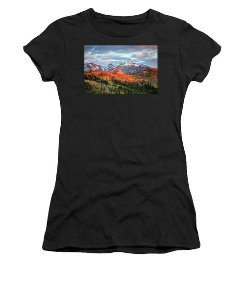 Upper American Fork Canyon Women's T-Shirt (Athletic Fit)