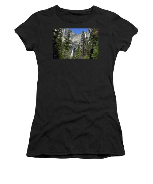 Upper And Lower Yosemite Falls Women's T-Shirt (Athletic Fit)