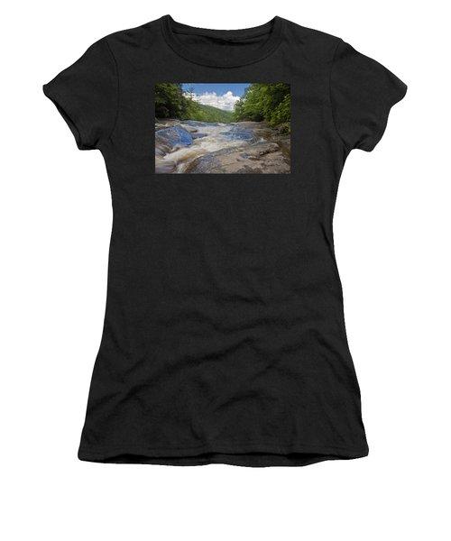 Upper Creek Waterfalls Women's T-Shirt