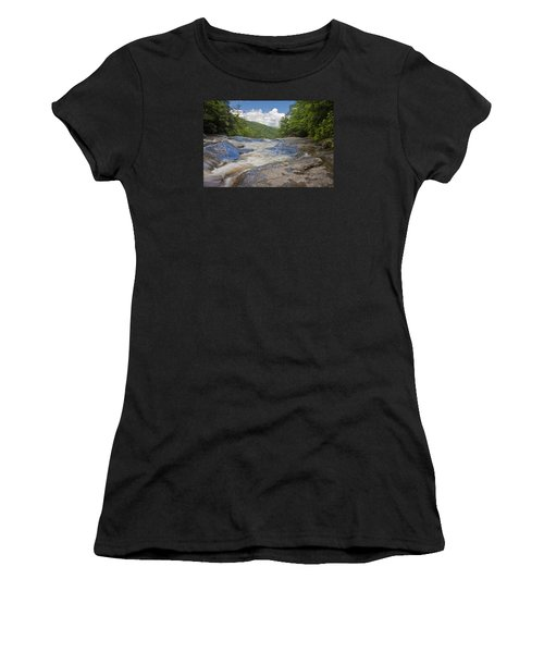 Upper Creek Waterfalls Women's T-Shirt
