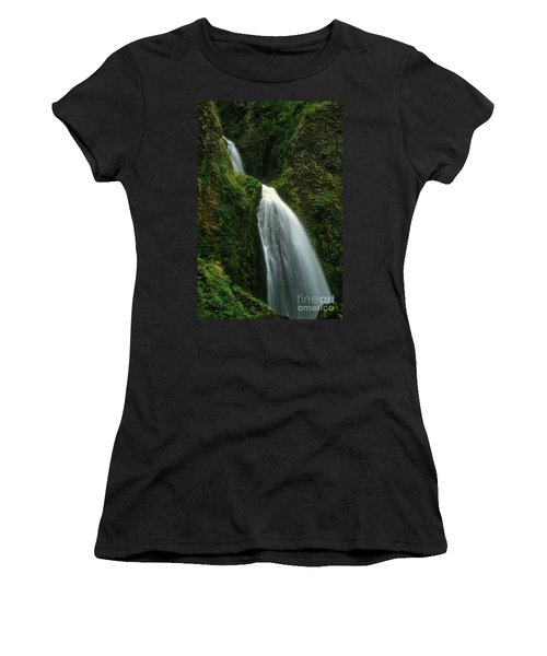 Upper Wahkeena Falls Women's T-Shirt