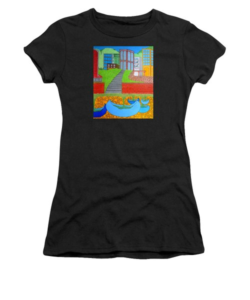 Urban Growth Women's T-Shirt (Athletic Fit)