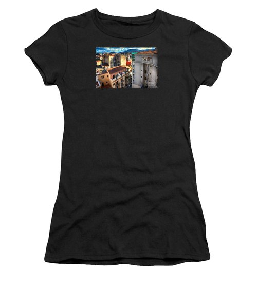 Urban Landscape In Palermo Women's T-Shirt (Athletic Fit)