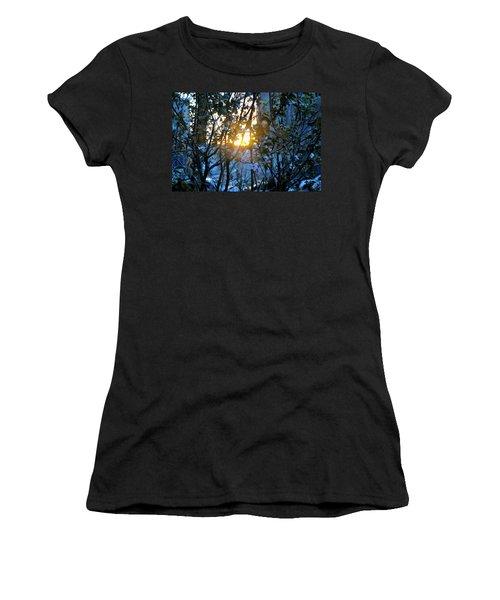 Urban Sunset Women's T-Shirt (Athletic Fit)