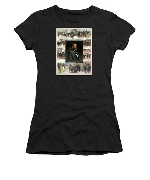 Us Grant's Career In Pictures Women's T-Shirt