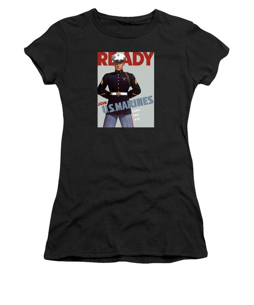 Us Marines - Ready Women's T-Shirt