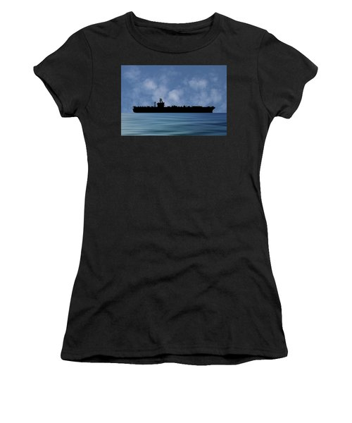 Uss Abraham Lincoln 1988 V1 Women's T-Shirt