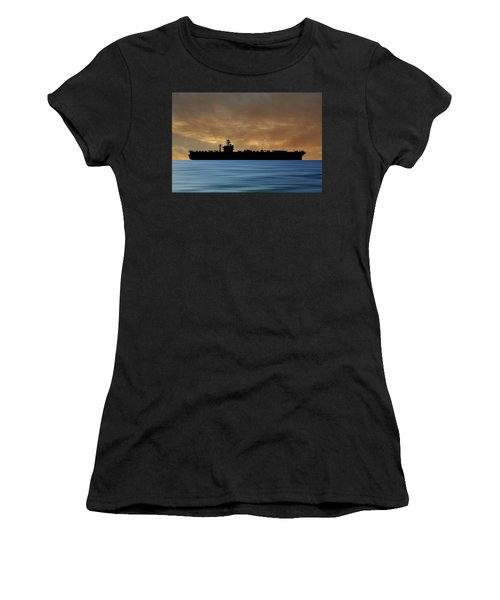 Uss Abraham Lincoln 1988 V2 Women's T-Shirt