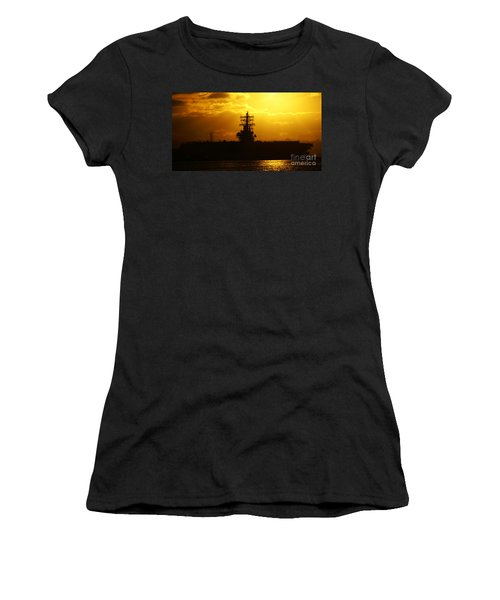 Uss Ronald Reagan Women's T-Shirt