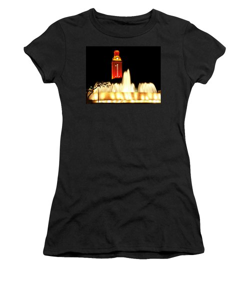 Ut Tower Championship Win Women's T-Shirt (Junior Cut) by Marilyn Hunt