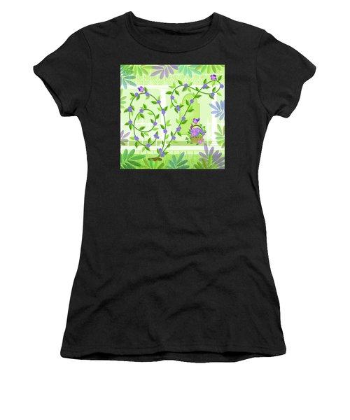 V Is For Vine And Veranda Women's T-Shirt
