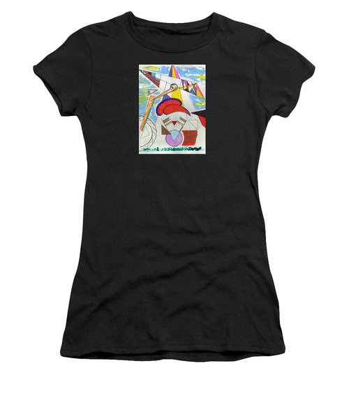 V Twin Women's T-Shirt (Athletic Fit)