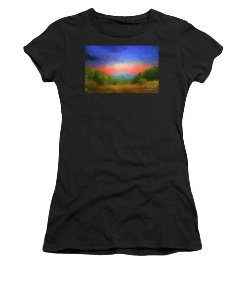 Valley In The Cove Women's T-Shirt (Athletic Fit)