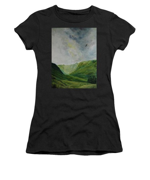 Valley Of Eagles Women's T-Shirt (Athletic Fit)