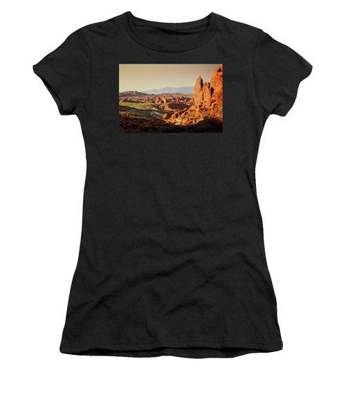 Valley Of Fire Xxiii Women's T-Shirt (Junior Cut)