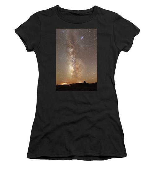 Valley Of The Gods Milky Way Women's T-Shirt