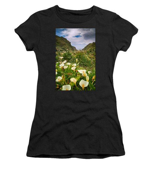 Women's T-Shirt featuring the photograph Valley Of The Lilies by Laurie Search