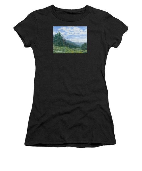 Valley View Women's T-Shirt (Athletic Fit)