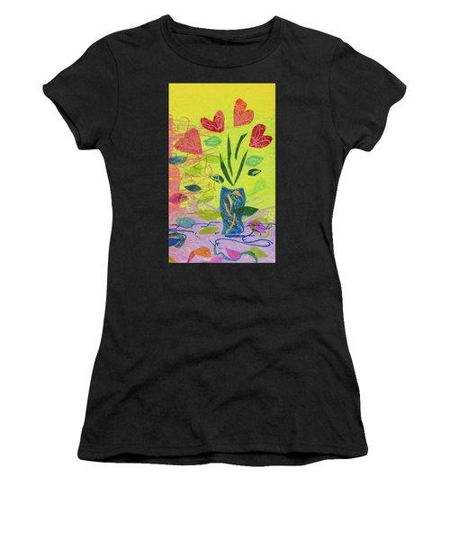Vase Full Of Love Women's T-Shirt