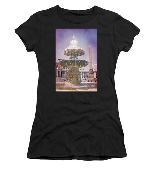 Vatican City Fountain Women's T-Shirt