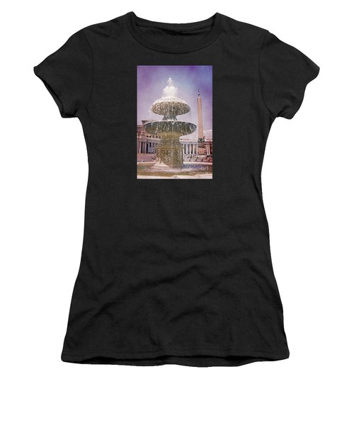 Vatican City Fountain Women's T-Shirt