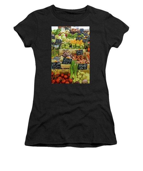 Veg At Marche Provencal Women's T-Shirt (Athletic Fit)