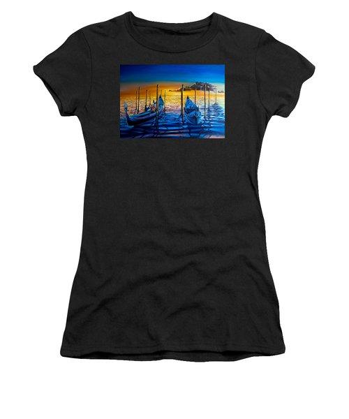 Venetian Lights 7 Women's T-Shirt (Athletic Fit)