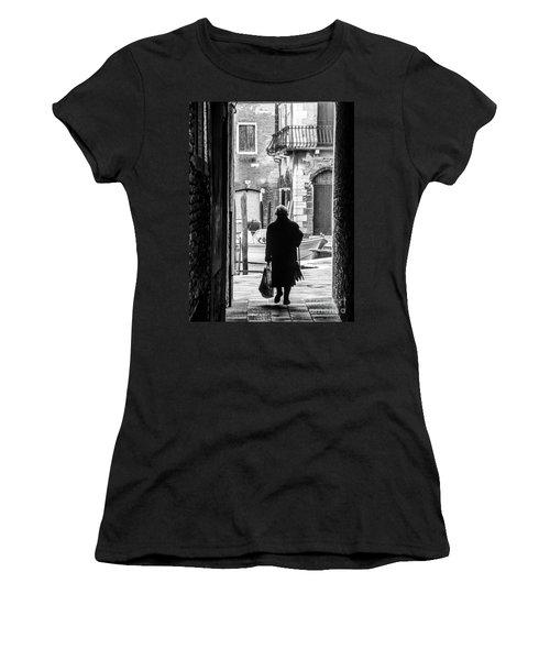 Venetian Silhoutte Lady Women's T-Shirt