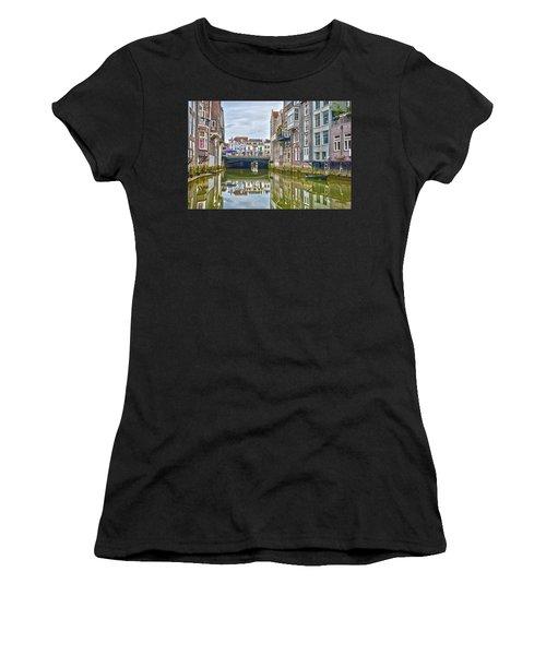 Venetian Vibe In Dordrecht Women's T-Shirt (Athletic Fit)