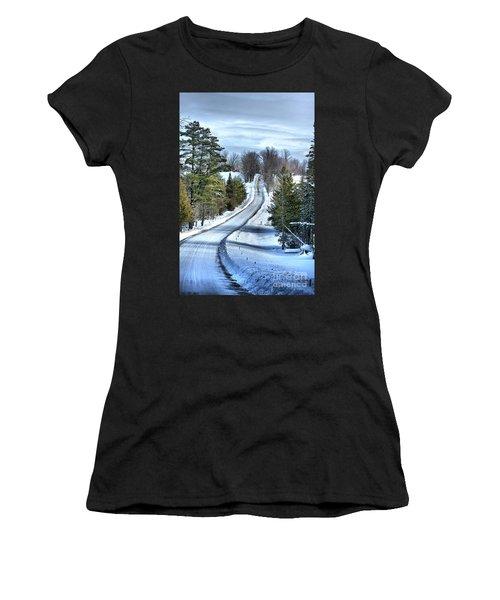 Vermont Country Landscape Women's T-Shirt