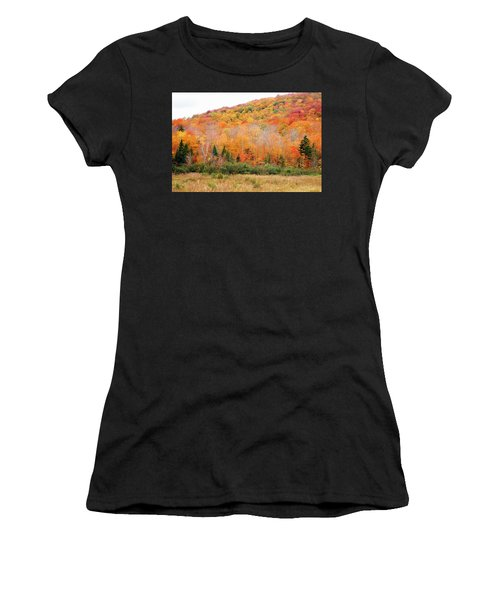 Vermont Foliage Women's T-Shirt (Athletic Fit)