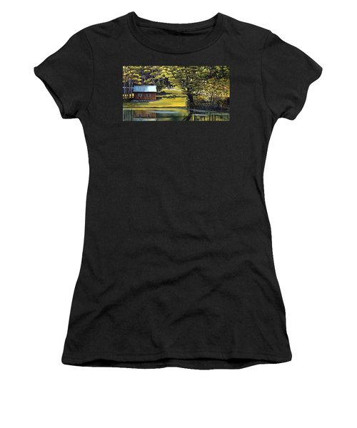 Vermont Greens Women's T-Shirt (Athletic Fit)