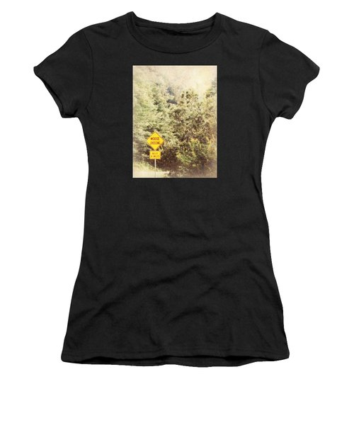 Vermont In Winter Women's T-Shirt (Athletic Fit)