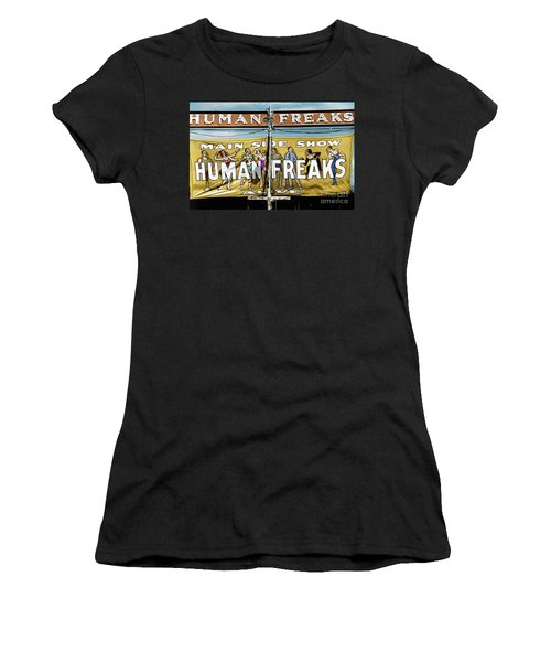 Women's T-Shirt (Athletic Fit) featuring the photograph Vermont Sideshow by Granger