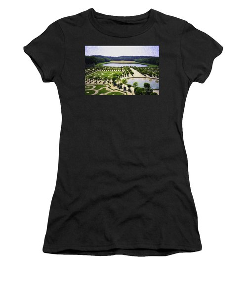 Versailles Digital Paint Women's T-Shirt