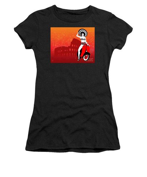 Vespa Girl Women's T-Shirt