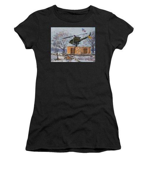 Veterans Memorial Park In Tonawanda Women's T-Shirt (Athletic Fit)