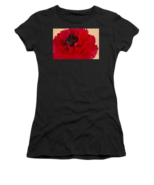 Vibrant Petals Women's T-Shirt (Athletic Fit)