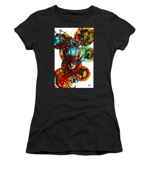Vibrant Sphere Series 995.042312vsx2 Women's T-Shirt (Athletic Fit)