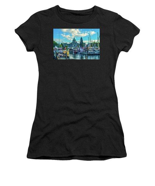 Victoria Harbor Boat Festival Women's T-Shirt