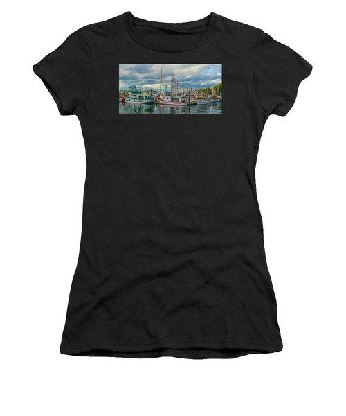 Victoria Harbor Boats Women's T-Shirt